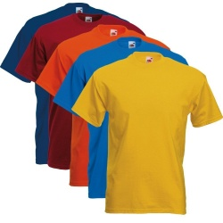 Fruit of the Loom T-Shirts 5 Pack - Super Premium